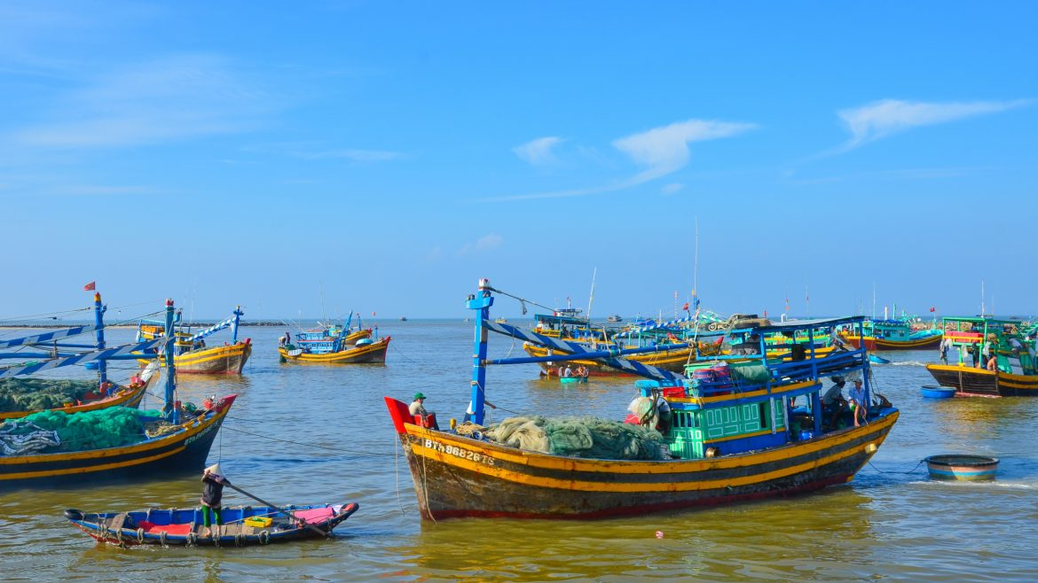Phan Thiet Beach, included in tours offered by Asia Vacation Group
