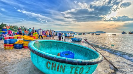 Phan Thiet Mui Ne fishing morning, included in tours offered by Asia Vacation Group