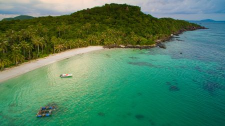 Phu Quoc May Rut island, included in tours offered by Asia Vacation Group