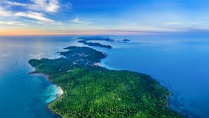 Panorama of Thom Island in Phu Quoc, Vietnam, included in tours offered by Asia Vacation Group