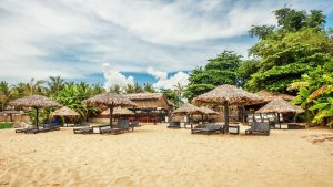 Phu Quoc Beach, included in tours offered by Asia Vacation Group