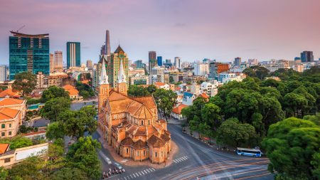 Sai Gon dame church, Vietnam, included in tours offered by Asia Vacation Group