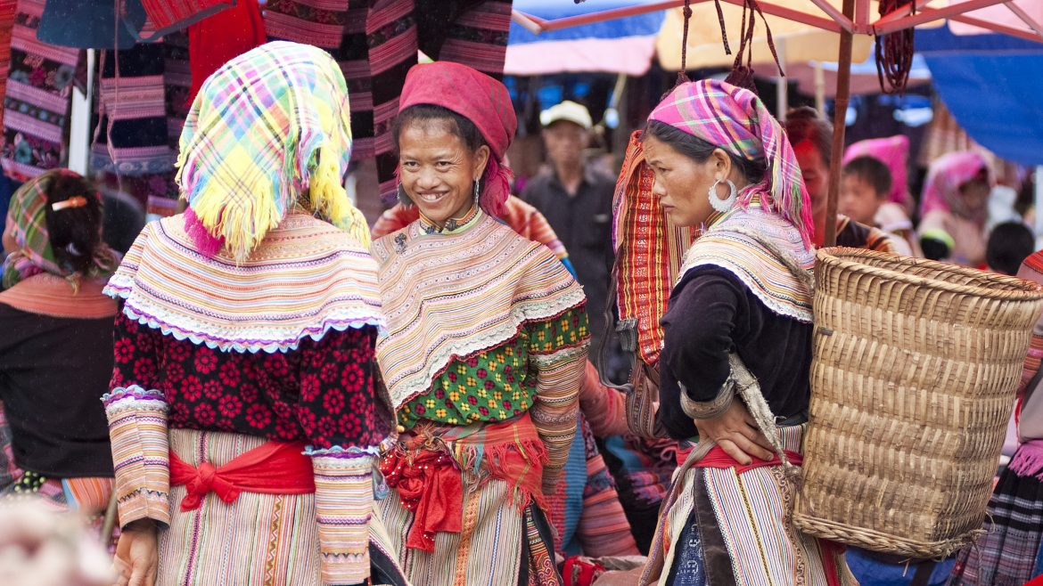 Bac Ha market in Sapa, Vietnam, included in tours offered by Asia Vacation Group
