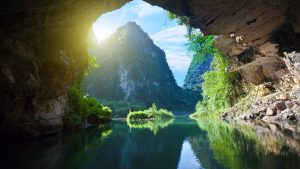 Tam coc cave, Vietnam, included in tours offered by Asia Vacation Group