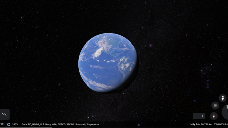 Using Google Earth to go on Tours Online