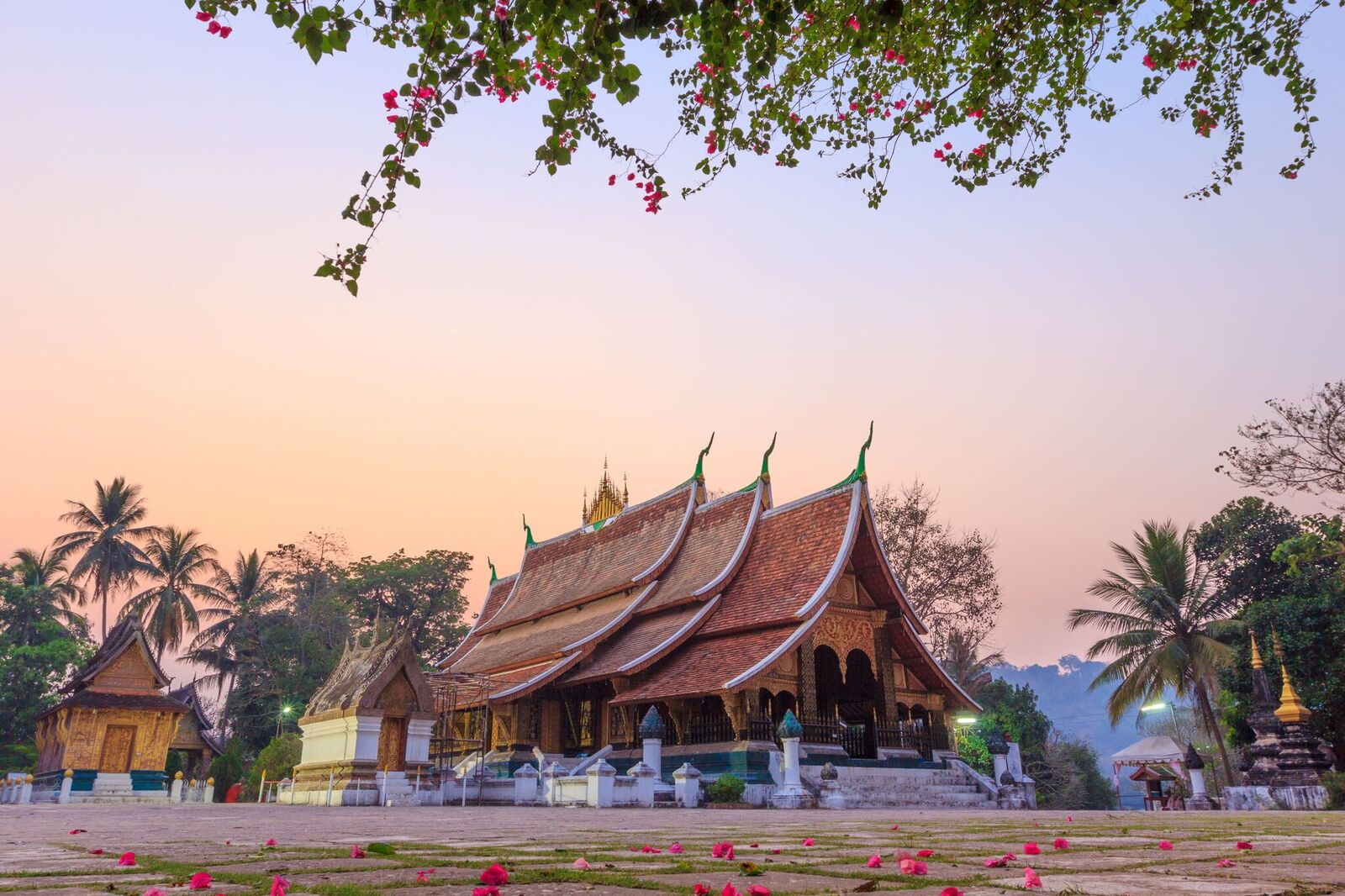 Wat Xieng Thong in Luang Prabang, Laos, included in tours offered by Asia Vacation Group