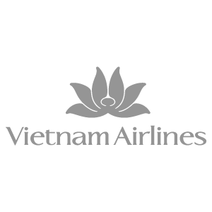 Logo of Vietnam Airlines, a trusted partner of Asia Vacation Group